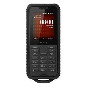 Nokia 800 Tough Portable débloqué 4G (2,4 Pouces 4Go Stockage Double Sim KaiOS V2.5) Noir - Publicité