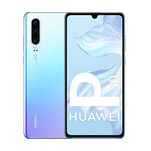 Huawei P30 Smartphone débloqué 4G (6,1 pouces 6/128Go Double Nano SIM Android 9) Blanc Nacré - Publicité