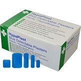 HypaPlast Safety First Aid D7010 Paquet de 100pansements de Tailles Assorties pour Travail en Cuisine Bleu