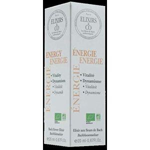 Elixirs & Co Elixir Composé aux Fleurs de Bach Prêt à l'Emploi Energie Les Fleurs de Bach Bien être Bio 100% Naturel Made in France 20ml - Publicité