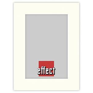 Effect Bilderrahmen 1x5 effect passepartout ivory format 20x30 schnitt 13x18 - Publicité