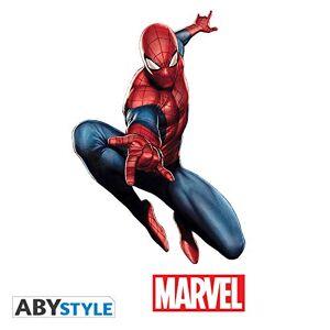 ABYstyle MARVEL Stickers échelle 1 Spider-Man - Publicité