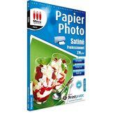 Micro Application Papier Photo Satiné Professionnel A4 - 270 g/m² - 25 Feuilles