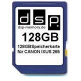 DSP Memory Carte mémoire pour Canon IXUS 265 128 GB 128 Go