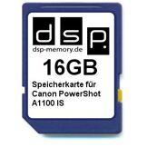 DSP Memory DSP Mémoire Z 405155736915316Go Carte mémoire pour Canon PowerShot A1100is