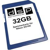 DSP Memory DSP Mémoire Z 405155736578032Go Carte mémoire pour Nikon D5100