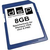 DSP Memory 4051557407114de Z 8GB Carte mémoire pour Olympus Pen Mini E-PM2