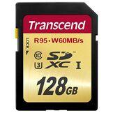 Transcend TS128GSDU3E Carte Mémoire SDXC 128 Go UHS-I U3 Emballage Déballer sans s'énerver par Amazon