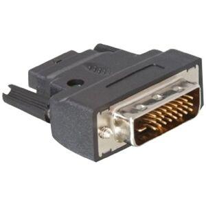 DeLOCK adaptateur DVI-25pin prise mâle  HDMI femelle