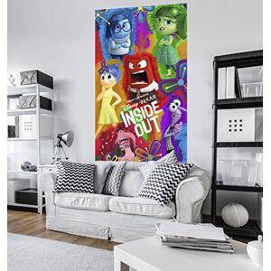 Komar VD de 034non-tissé Panel Inside Out Aquarelle 1Gare, avec colle, multicolore, 120x 200cm