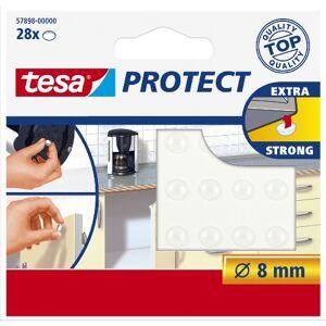 Tesa Protect Lot de 28 Pastilles antibruit/antidérapantes Protect Ø 8 mm - Publicité