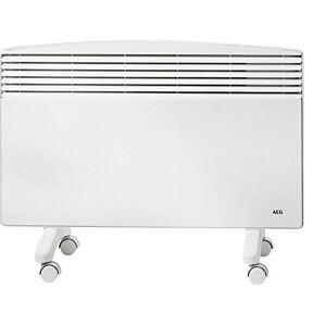 AEG 229799 WKL 2003 F Radiateur mural sur pieds 2000 W 230 V avec thermostat mécanique Blanc - Publicité