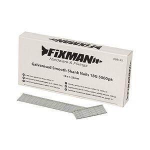 FIXMAN 868140 5000 clous galvanisés lisses calibre 18 16 x 1,25 mm - Publicité