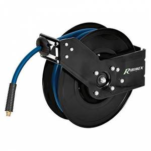 Ribimex PRDATRM16 Enrouleur de tuyau d'air automatique professionnel 15 m - Publicité
