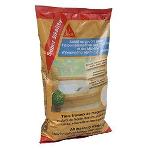 SIKA Super lite, Additif en poudre pour imperméabiliser les mortiers et bétons, 1kg, Blanc - Publicité