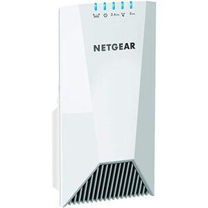 Netgear Répéteur WiFi Mesh Tri-Bandes (EX7500), Amplificateur WiFi AC2200, WiFi Booster, 2.2 Gigabit/s, Meilleure Couverture Wifi pour Tous Vos Appareils, repeteur WiFi puissant compatible toutes Box - Publicité