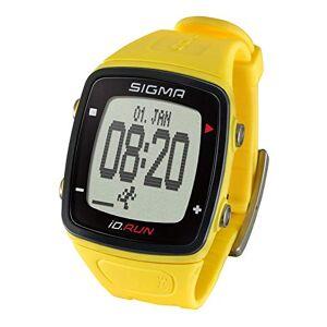 Sigma Sport ID.Run GPS Montre de Course Jaune Taille Unique - Publicité