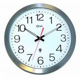 Orium 11385 Horloge étanche RC inoxØ35 DCF, Métal, INOX, 35,5 x 35,5 x 4,5 cm