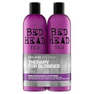 Tigi By Dumb Blonde Shampooing/Aprs-Shampooing pour Cheveux Blonds 750 ml - Publicité