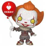 Funko- Pop Vinyl: Movies: IT: Chapter 2-Pennywise w/Balloon Figurine de Collection, 40630, Multicolore
