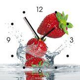 contento 866079 Horloge Murale My Clock en Panneau MDF