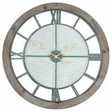 Pacific Lifestyle Bois Rond Horloge Murale, Nature, 190 x 860 x 880 mm