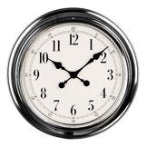 Premier Housewares 2200635 Horloge Murale Finition Chromé