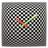 NeXtime 8178 Victor Horloge Verre Multicolore 43 x 43 x 3,5 cm