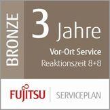Fujitsu Siemens de Service Plan: Avant de 3Ans ORT Service–Temps de réponse au Sein de 8Heures + Fix Low Scanner de vol Production de 8Heures