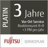 Fujitsu Siemens 3Ans de Service Plan: Vor Ort Service de réaction 8Heures + 8STD Fix + 3prà © ventive Maintenance par an Mid Scanner de vol Production