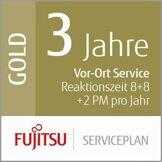 Fujitsu Siemens 3Ans de Service Plan: Vor Ort Service de réaction 8Heures + 8STD Fix + 2prà © ventive Maintenance par an Mid Scanner de vol Production