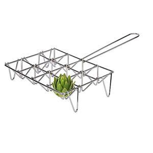 Sauvic 02615 Grille  6 Cavités pour Légumes Acier 24,5 x 42,5 x 8,5 cm - Publicité