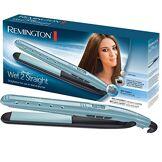 Remington Fer à Lisser Lisseur Plaques Flottantes XL Céramique Avancée Soin Anti-Frizz sur Cheveux Mouillés ou Secs - Accessoire Inclus S7300