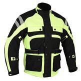Bikers Gear Australia Veste imperméable, Hi Viz, (52EU)