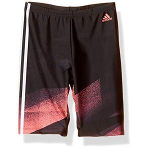 """Adidas FIT TKY Jam Maillot de Bain Homme, Black/Signal Pink, FR : XL (Taille Fabricant : 32"""") - Publicité"""
