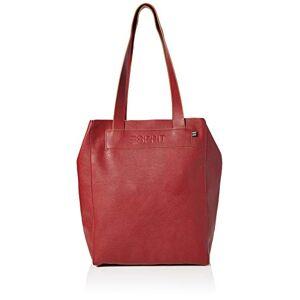 Esprit Accessoires Femme  Shopper Taille unique Rouge 610/Dark Red, Taille unique - Publicité