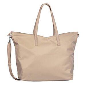 Tom Tailor Lara Shopper pour femme Taille L Beige beige, Large - Publicité