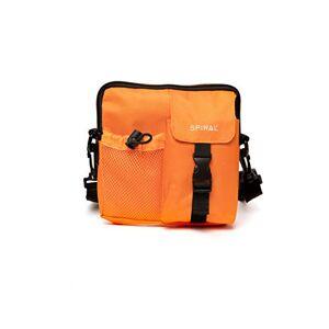 Spiral Military Shoulder Bag Orange Sac Banane Sport 18 Centimeters 2 Orange - Publicité