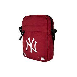 New Era Mlb Side New York Yankees Car Pochette de cou Homme Pochette de cou Homme Rouge (Dark Red), Taille Unique - Publicité