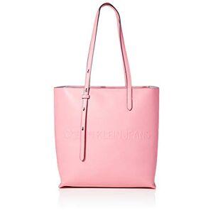 Calvin Klein Box N/s Tote W/Zipper, Cabas femme, Rose (Pop Pink), 1x1x1 cm (W x H L) - Publicité
