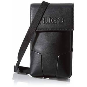 BOSS HUGO Rocket MT_Neck Pouch, Pochette pour la Nuque Homme, Noir 1, Taille Unique - Publicité