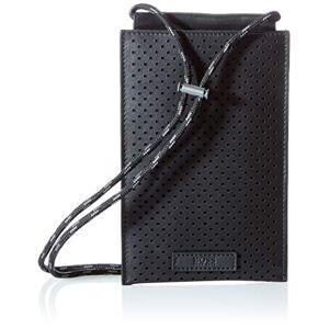 BOSS Trucker P_Phone 4 CC, Pochette pour la Nuque Homme, Noir 1, Taille Unique - Publicité