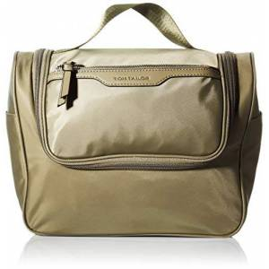 Tom Tailor Viona Wash bag pour femme Taille S Beige sauge, Small - Publicité