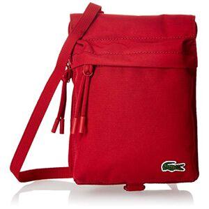 Lacoste Homme  Neocroc Cabas et Pochette Rouge (Tango Red) - Publicité