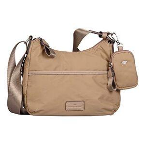 Tom Tailor Beatrice Hobo Bag Sac pour femme Taille L Beige beige, Large - Publicité