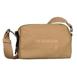 Tom Tailor Denim Lia Cross Bag Sac pour femme Taille S Beige camel, Small - Publicité