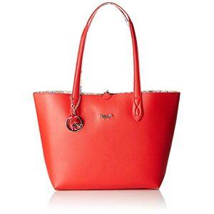 PIERO GUIDI Tote Bag + Busta, Cabas femme, Rouge (Rosso), 34,5x29,5x14 cm (W x H L) - Publicité