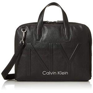 Calvin Klein Shaped Laptop Bag, Pochettes homme, Noir (Black), 0.1x0.1x0.1 cm (W x H L) - Publicité