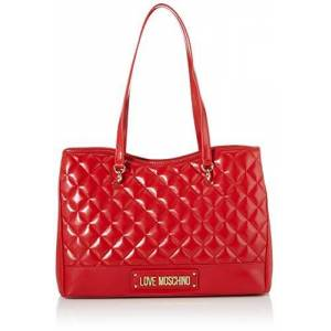 Moschino Love Moschino Borsa Quilted Nappa Pu, Cabas femme, Rouge (Rosso), 25x35x14 cm (W x H L) - Publicité