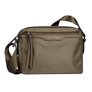 Tom Tailor Viona Cross Bag S Sac pour femme Beige sauge, Small - Publicité